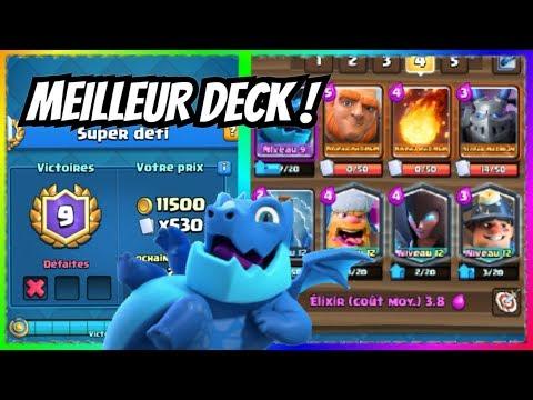 Super Défi Avec Le Meilleur Deck Electro-Dragon !