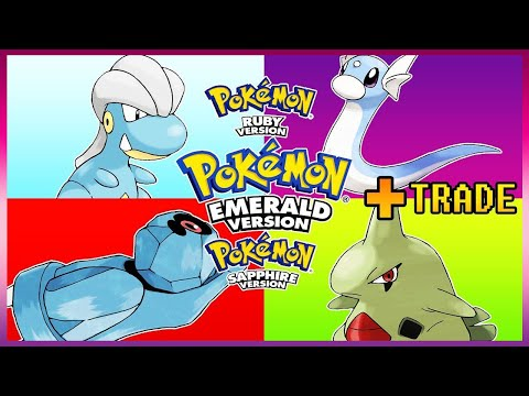 Pokemon Emerald/Ruby/Sapphire - How To Get Dratini,Larvitar,Bagon & Beldum
