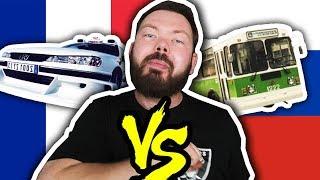 TRANSPORTS FRANÇAIS VS RUSSES - Daniil le Russe