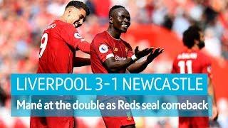Liverpool vs Newcastle (3-1) | Premier League highlights