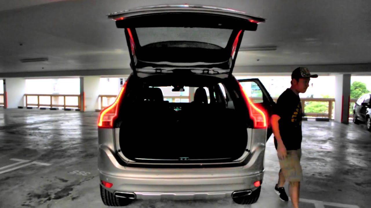 Cramping the Volvo XC60 Boot Space  YouTube