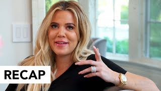 Khloe Kardashian Reveals She Almost Lost Her Baby - KUWTK Recap | Hollywoodlife
