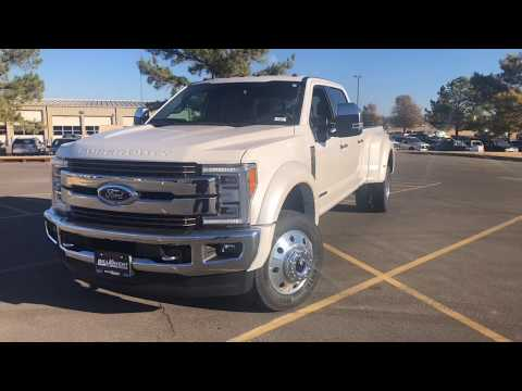 2019 Ford F-450 King Ranch DRW