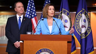 Watch live: Pelosi, Schiff hold news conference about Trump impeachment inquiry