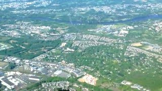 Survol de la ville de Carquefou