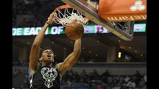 Giannis Antetokounmpo Throws Down 8 DUNKS in OT Loss to Clippers