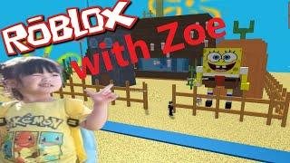 Roblox-Escaping Bobs mundo! con Zoe