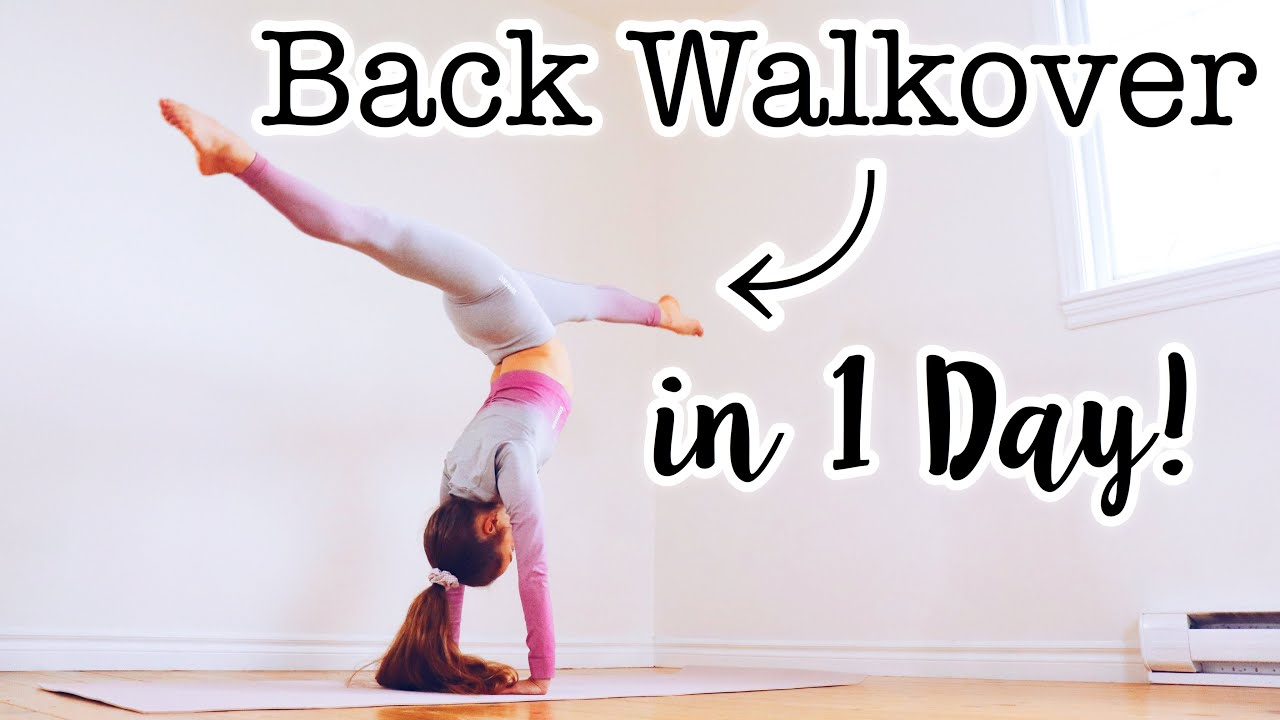 Download How to do a Back Walkover in One Day!