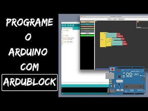 ArduBlock - Programação visual para Arduino - Embarcados