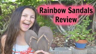 Rainbow Sandals Review