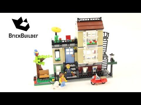 Lego Creator 31065 Park Street Townhouse - Lego Speed Build