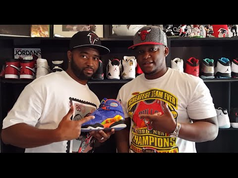 T-WARD'S SNEAKER COLLECTION PART 1 OF 2!!!