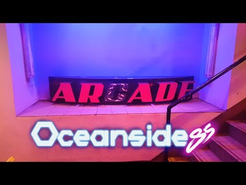 Gaming with Oceanside'85 at Quazar's Arcade