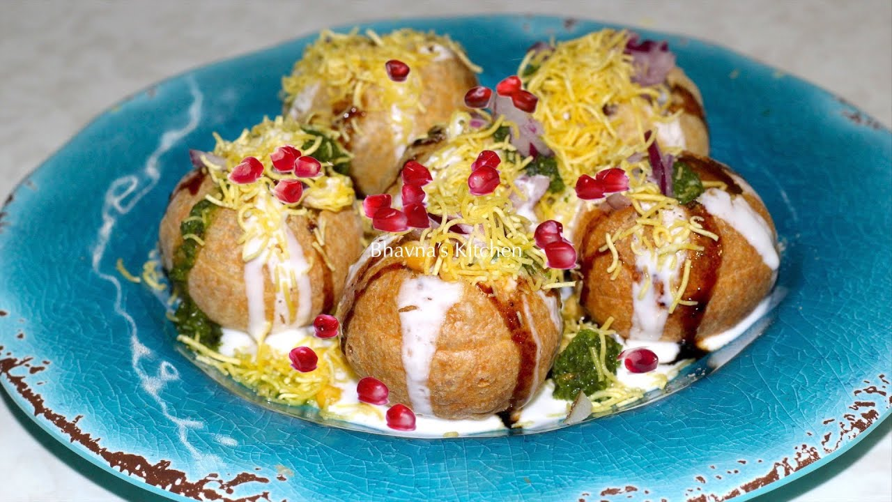 Dahi sev puri video recipe indian street food by bhavnas kitchen dahi sev puri video recipe indian street food by bhavnas kitchen forumfinder Choice Image
