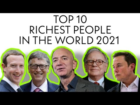 Top 10 Richest People In The World January 2021