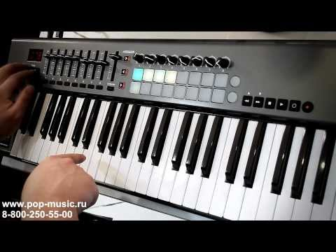 MIDI клавиатура NOVATION LAUNCHKEY 61