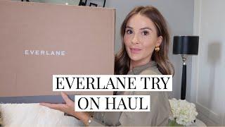 EVERLANE TRY ON HAUL | NADIA ANYA Ad
