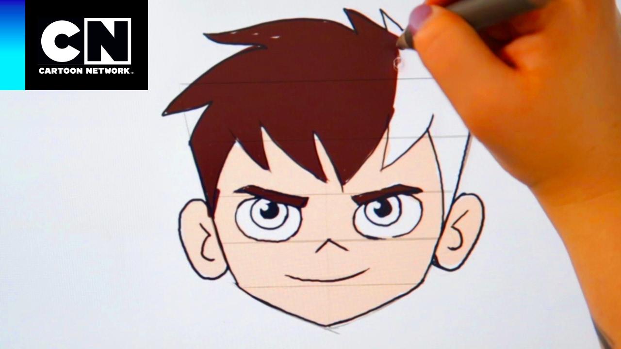 Aprende a dibujar a Ben! | Ben 10 | Cartoon Network - YouTube
