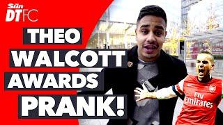 Fake Theo Walcott Pranks His Way Into Football Awards Show!