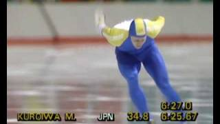 Speed Skating - Men
