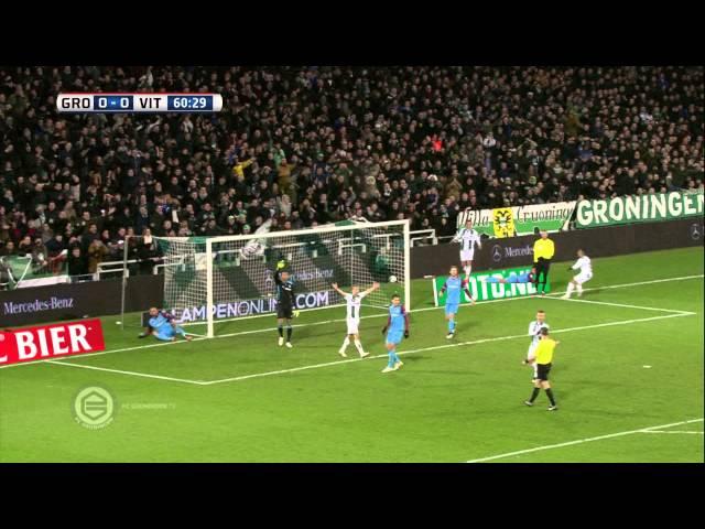 Samenvatting FC Groningen - Vitesse 4-0 (2014-2015, kwartfinale beker)