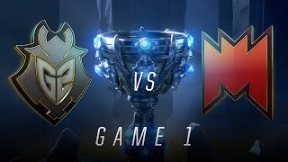 G2 vs INF | Game 1 | Worlds Play-In Knockouts | G2 Esports vs Infinity Esports (2018) thumbnail