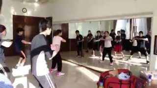 今日もダンス練習ですよ。 soezimaxも出演!前田耕陽芸能30周年記念 TEA...