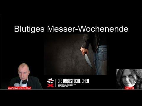 Freie Presse News:  Blutiges Messerwochenende  - Grüner landet wegen Schlepperei hinter Gittern u.a.