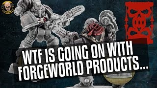 Wtf Is Going On At Forgeworld?! Horus Heresy Legion Upgrade Sets Are Going...