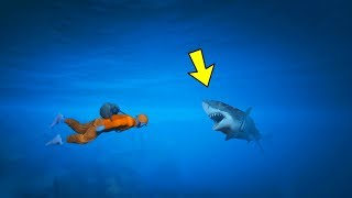 GTA 5 Online Parkour - UNDER WATER PARKOUR