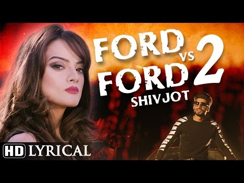 Ford vs Ford 2 Lyrical Video | Shivjot | Latest Punjabi Songs 2016