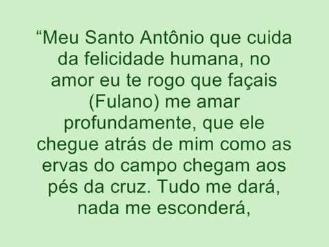 Oração forte de Santo Antonio  para amarrar seu amor