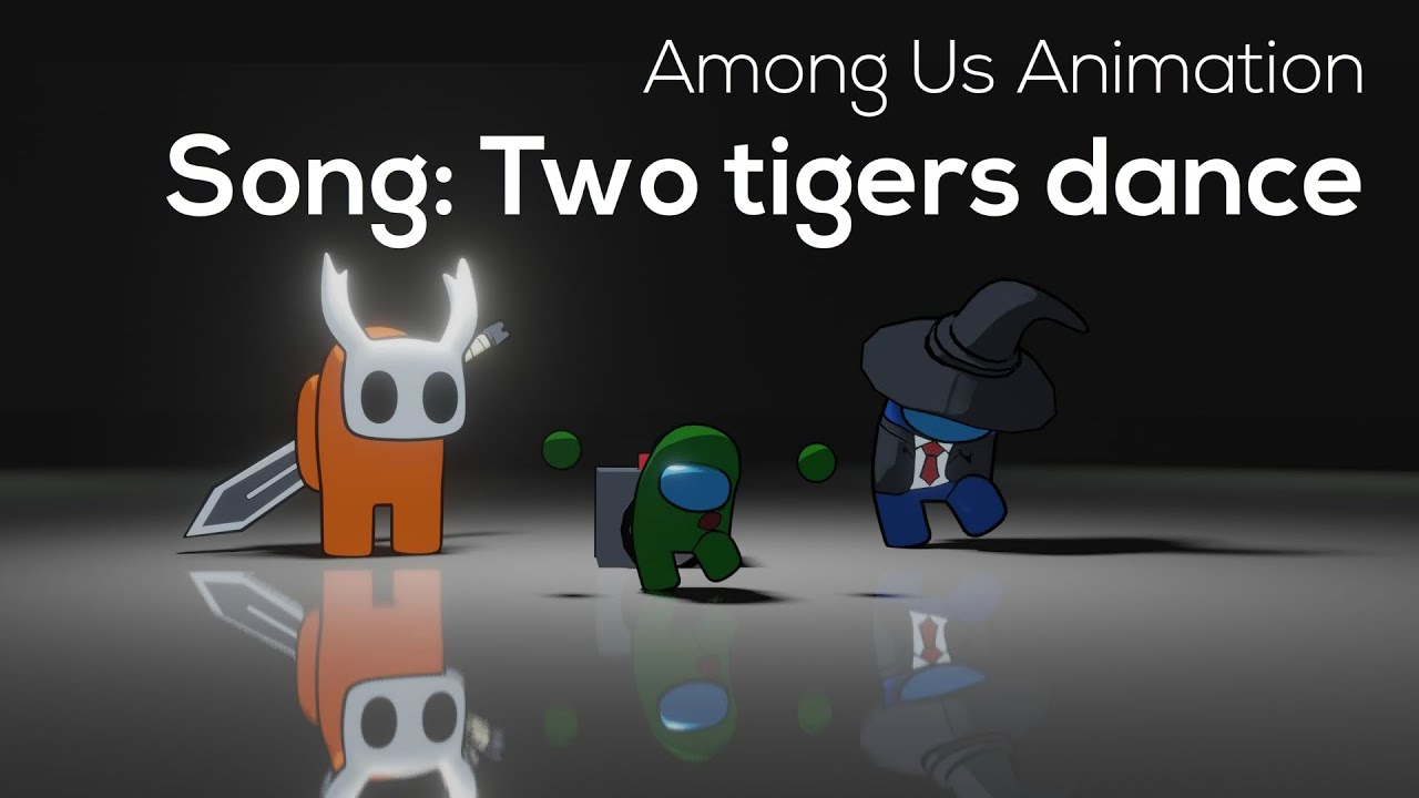 Among Us Animation: Song : Two tiger love to dance