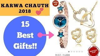 15 Best Karwachauth 2020 Gifts for Wife   Latest available online at Amazon India