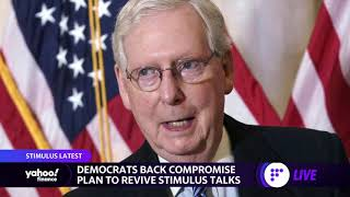 Coronavirus Stimulus: Mitch McCoฑnell and Nancy Pelosi resume talks as Americans wait for relief