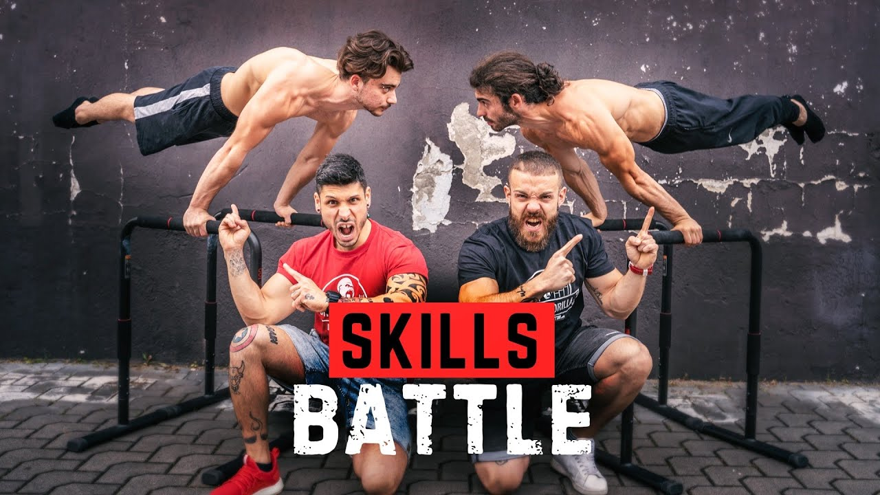 Sfida estrema di Calisthenics Freestyle  - SKILLS BATTLE
