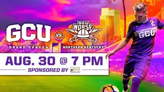 Gambar cover GCU Men's Soccer vs Northern Kentucky August 30, 2019