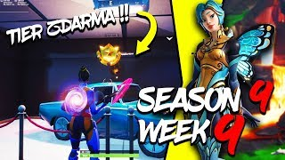 WHERE is the FIFTH FREE TIER FOR SEASON 9 (Semaine 9)-Fortnite Battle Royale CZ/SK