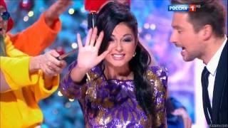 С.Лазарев и Нюша, Новогодний парад звёзд