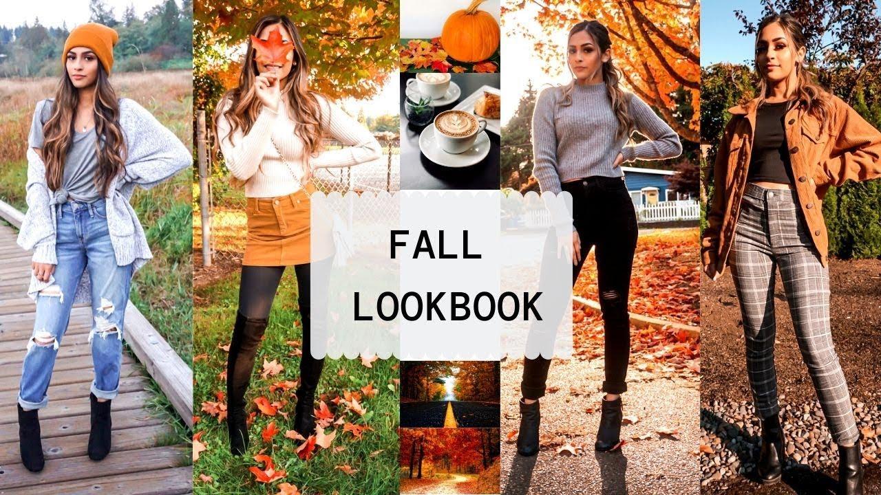 [VIDEO] - Fall outfits | FALL FASHION LOOKBOOK 8