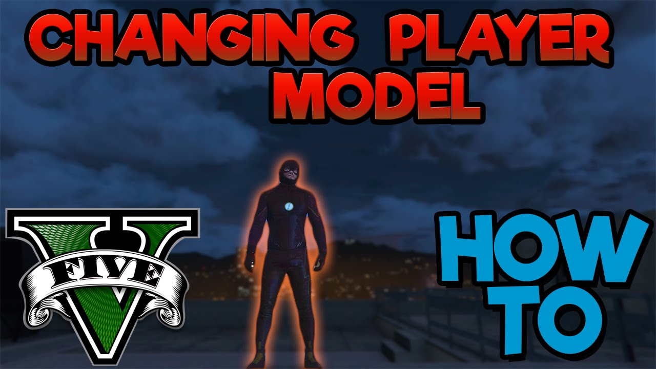 How To Change Your Player Model In GTA V