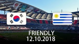 South Korea vs Uruguay - International Friendly - PES 2019