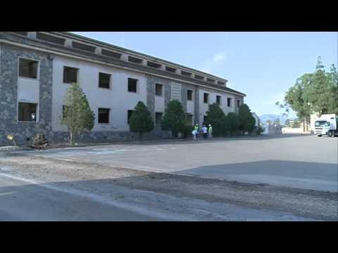 13/09/2013 Las obras del Campus de Cartagena de la UCAM en Los Dolores avanzan a buen ritmo