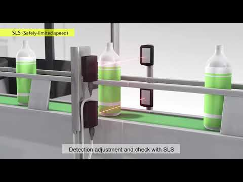 OMRON 1S Servo System with Safety Functionality | Filling Line