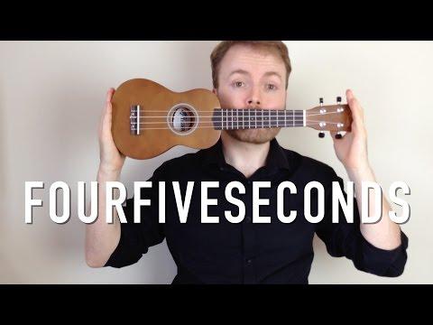 FourFiveSeconds - Rihanna, Kanye West, Paul McCartney (Ukulele Tutorial)