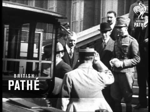 Peace Conference At Paris (1919-1929)