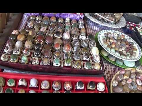 Art stuffs at Sesela art market  Lombok, Indonesia