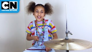 Amazing 10-Year-Old Plays Island Song On Drums | Adventure Time | Cartoon Network