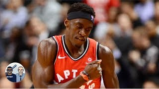Jalen Rose and David Jacoby discuss Toronto Raptor's Pascal Siakam 44 point performance versus the Washington Wizards, how he leading candidate for the ...