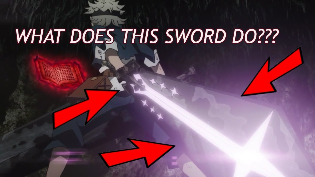 Black Clover Demon Dweller Sword Hidden Ability - YouTube